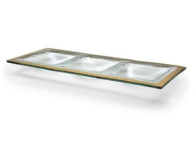 Picture of Roman Antique Three-Section Glass Tray