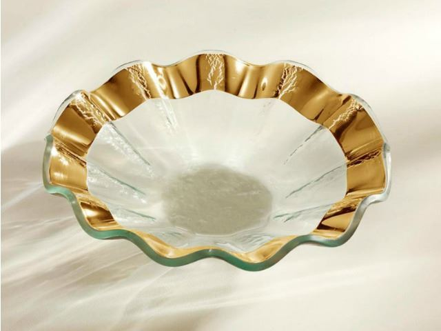 Picture of Ruffle Small Glass Bowl