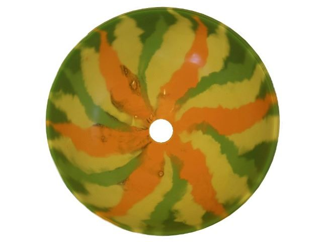Picture of Sunflower Pinwheel Glass Sink