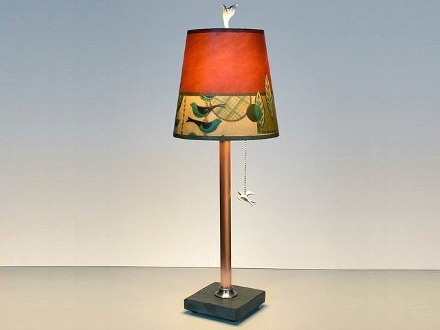 Picture of Janna Ugone Table Lamp | New Capri in Red 1