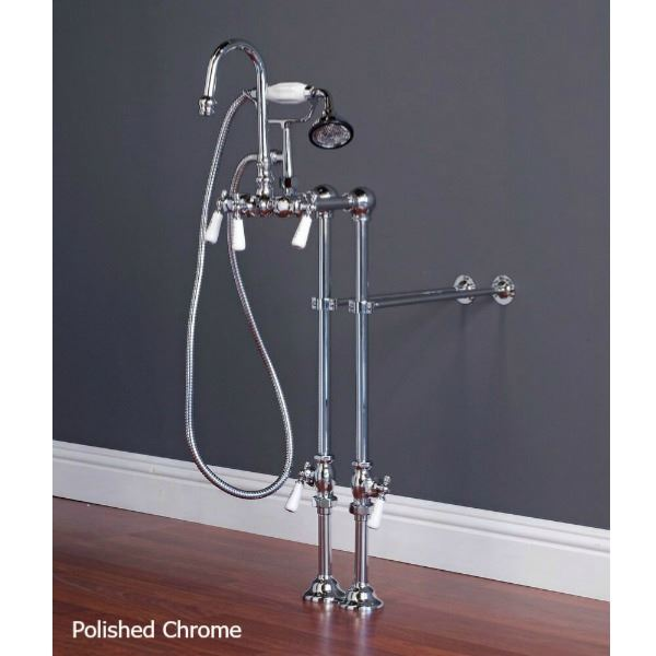 Picture of Tub Filler | Gooseneck with Hand Shower