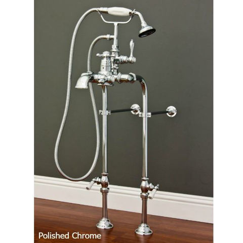 Tub Filler | Single Handle with Hand Shower