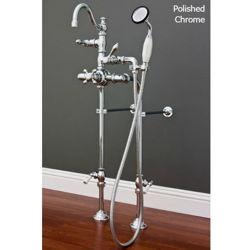 Tub Filler | Side-Mounted Hand Shower