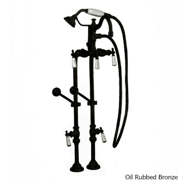 "Picture of Tub Filler | Hand Shower - 3 3/8"" Centers"