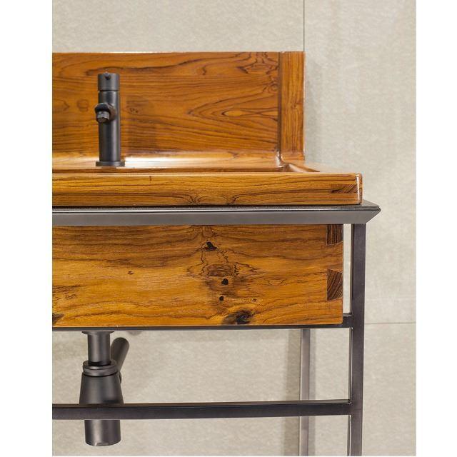 Picture of Bathroom Sink - Teak Wood with Vanity Option