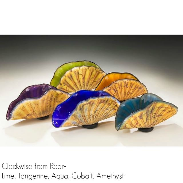 Picture of Primitive Shell Art Glass