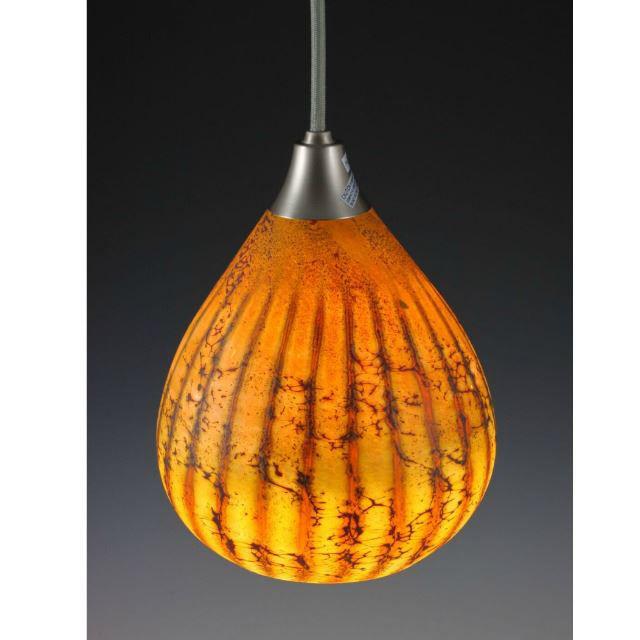 Picture of Blown Glass Pendant Light | Batik II