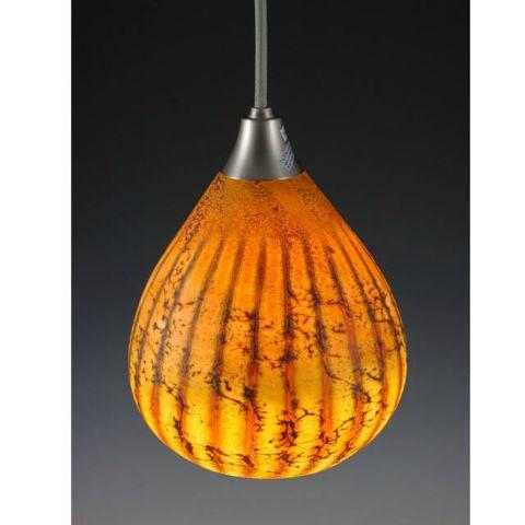 Blown Glass Pendant Light | Batik II