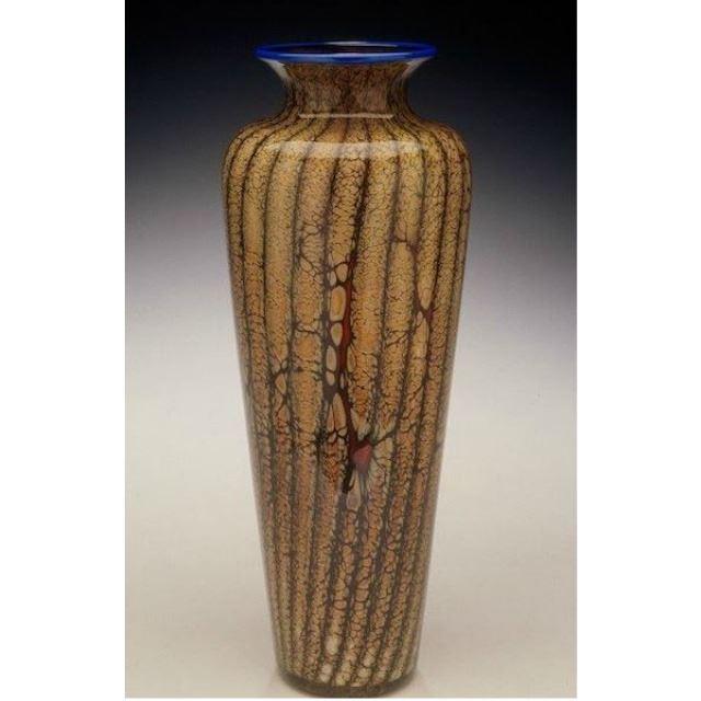 Picture of Blown Glass Vase   Batik