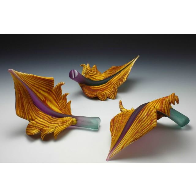 Picture of Blown Glass Arbors | Amethyst Sage