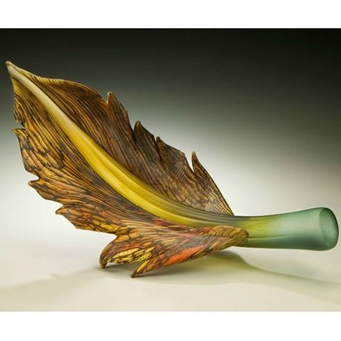 Blown Glass Arbors | Sage Topaz