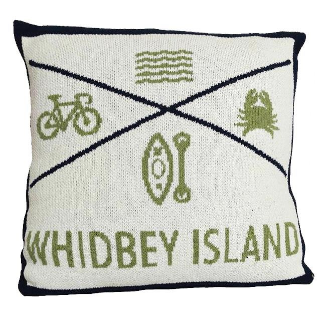Picture of Whidbey Pillow in Blue by In2Green