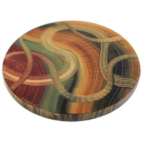 Picture of Grant-Norén Lazy Susan - Ribbons