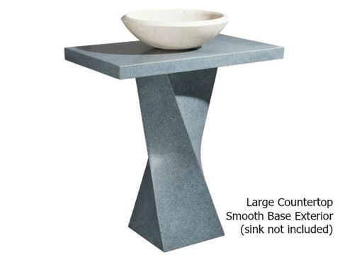 Helical Pedestal - Mercury Granite