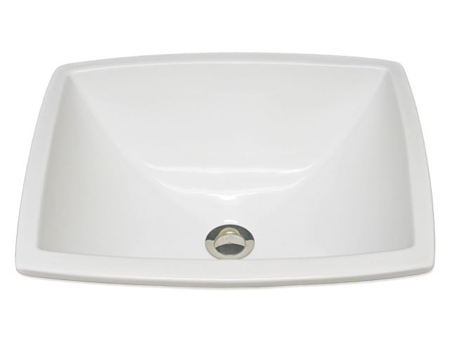 "Picture of Marzi 18"" Rectangle Undermount Ceramic Sink"