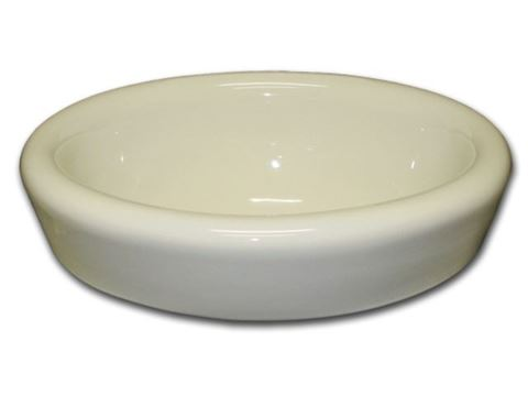 "Marzi 17"" Oval Half-Exposed Drop-in Ceramic Sink"
