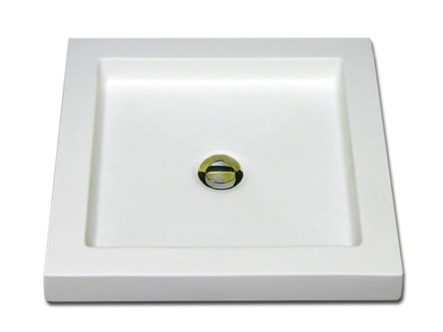 "Picture of Marzi 16"" Square Urban Basin Ceramic Sink"