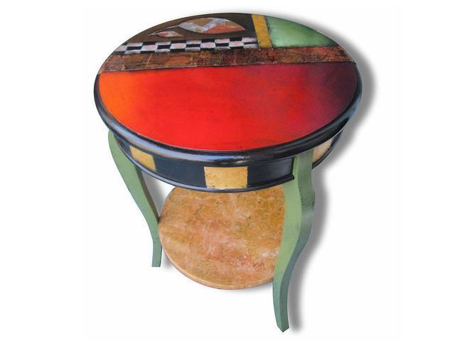 Picture of Hand Painted Side Table 4