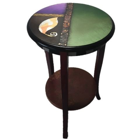 Picture of Hand Painted Side Table 3