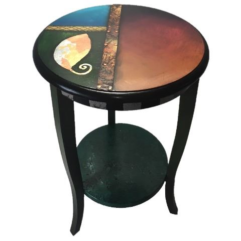Picture of Hand Painted Side Table 5