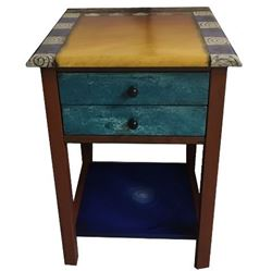 Hand Painted End Table 5