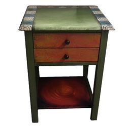 Picture of Hand Painted End Table 1