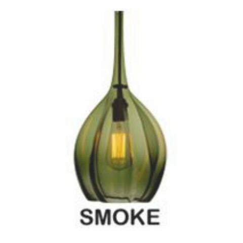 Picture of Pendant Light | Morph Edison | Smoke