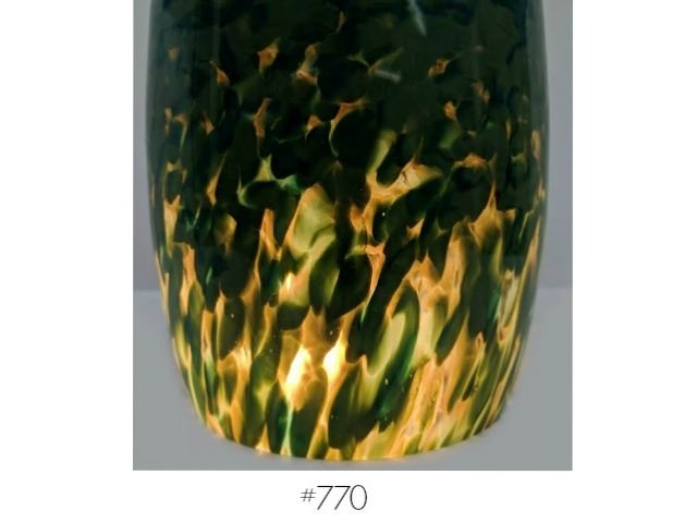 Picture of Blown Glass Pendant Light | Lily Pond