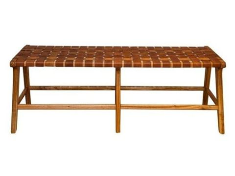 Padron Leather Bench