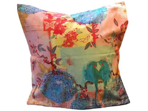 Kathe Fraga Decorative Pillow - When We First Met