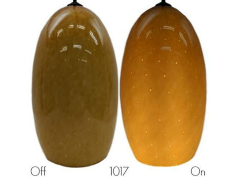 Blown Glass Pendant Light   Mango Dot