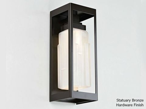 Ledgestone Outdoor Maison Sconce 18""