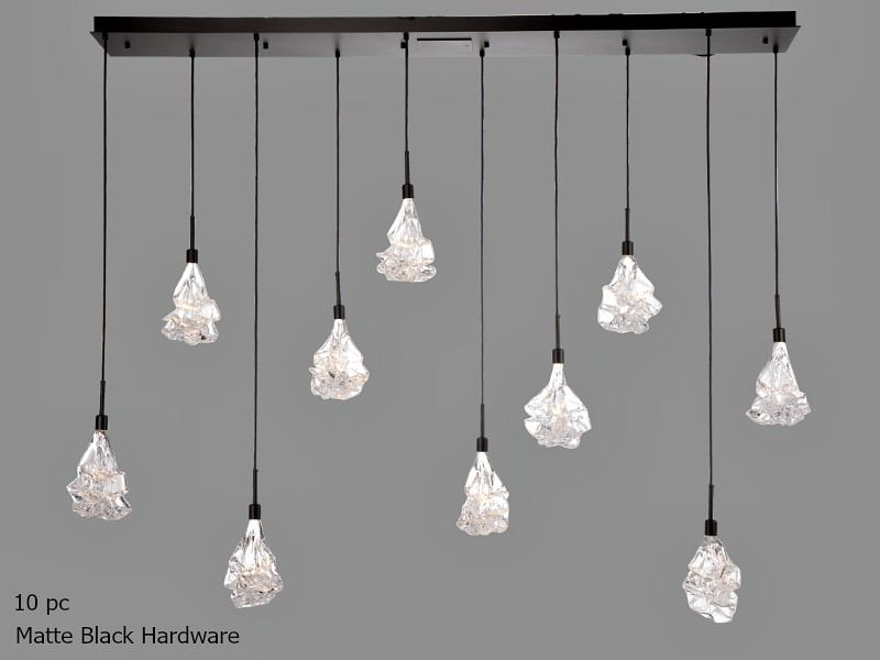 Picture of Linear Chandelier | Blossom 9