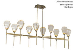 "Picture of Linear Chandelier | Hedra | Belvedere | 69"""