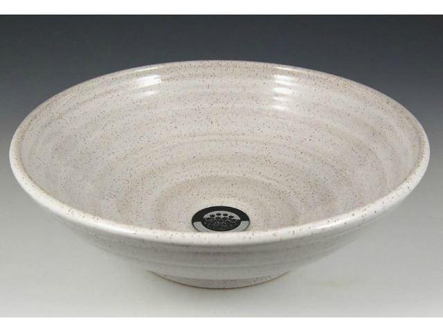 Picture of Delta Ceramic Vessel Sink in Iron White