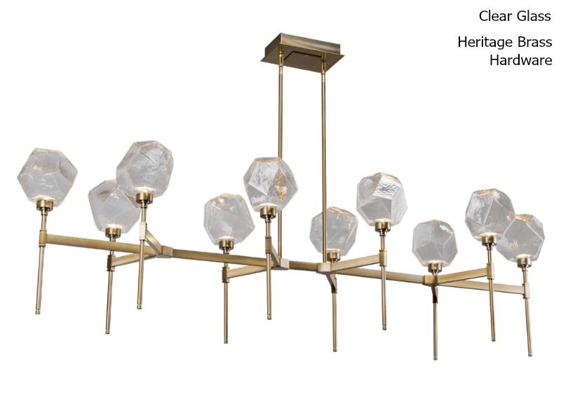 Picture of Linear Chandelier | Gem 10