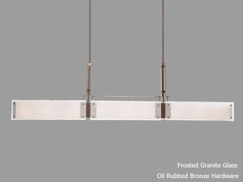 """Linear Chandelier   Urban Loft Trestle   56"""""""