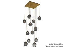 Picture of Terra Square Multi-Port Pendant Chandelier 12 pc