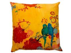 Kathe Fraga Decorative Pillow - French Kimono
