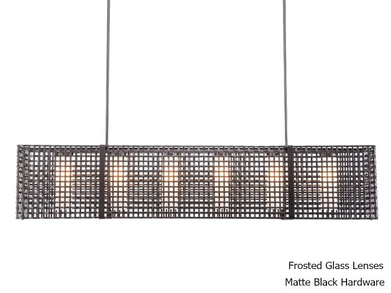 """Picture of Linear Chandelier 