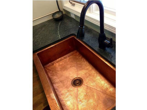 "42"" Fernanda Copper Farmhouse Sink by SoLuna"