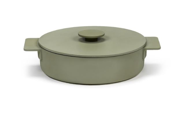 Picture of Enameled Cast Iron Casserole Dish - Sage
