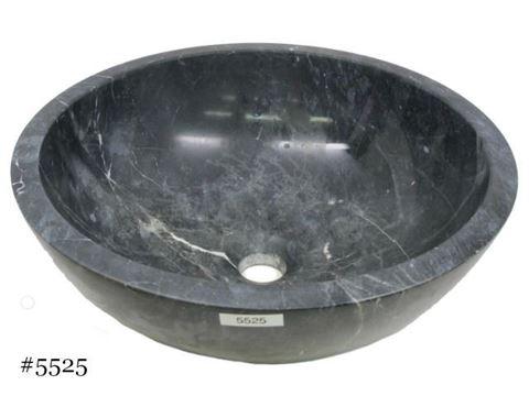SoLuna Black Marble Bath w/ Flat Rim Sink - Sale