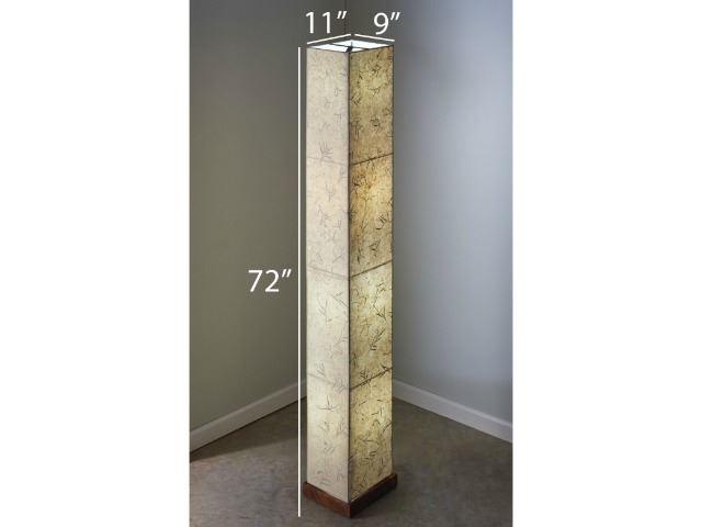 Picture of Unique Floor Lamp | Paper Tower