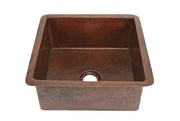 Square Copper Bar Sink by SoLuna