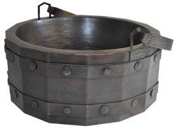Barril de Vino Copper Vessel Sink by SoLuna