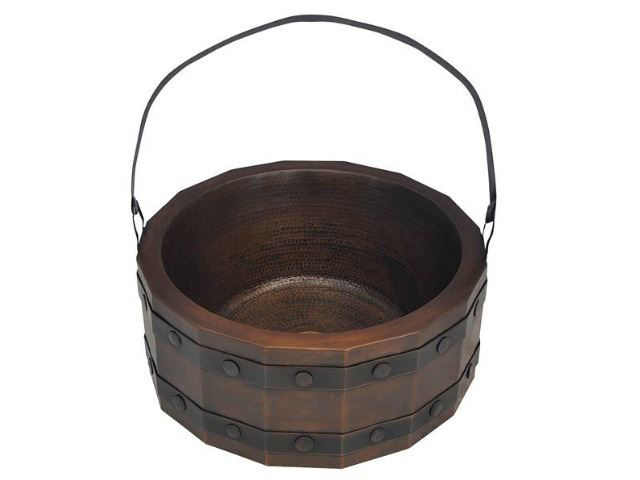 Picture of Barril de Vino Copper Vessel Sink by SoLuna