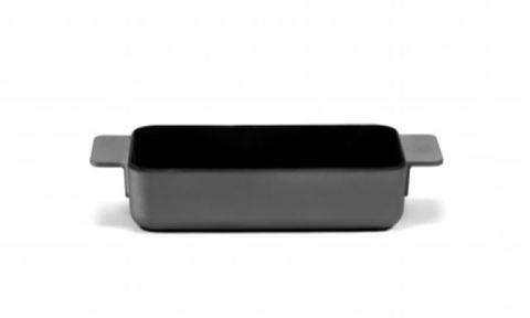 Enameled Cast Iron Oven Dish - Black