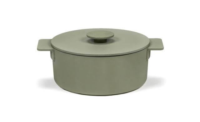 Picture of Enameled Cast Iron Pot - Sage