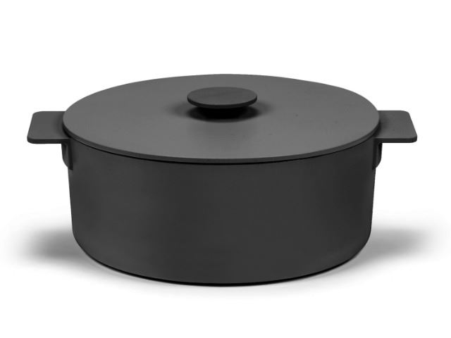 Picture of Enameled Cast Iron Pot - Black